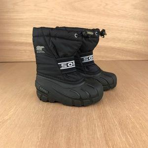 NEW Sorel Children Cub Boots Black